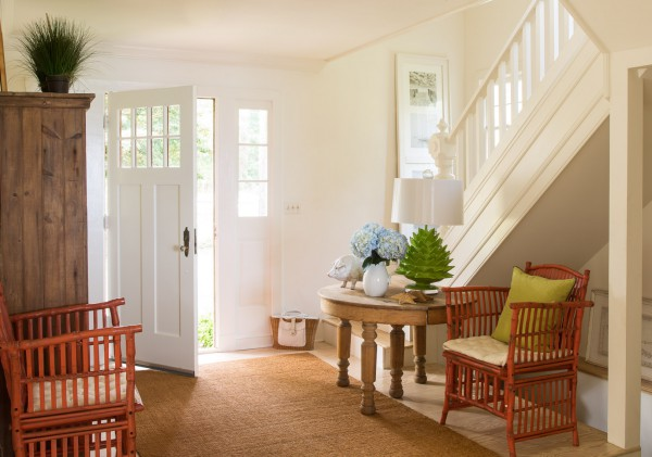 Inviting entry with a mixture of texture and color draws you in.<br/> (Montross, Virginia)